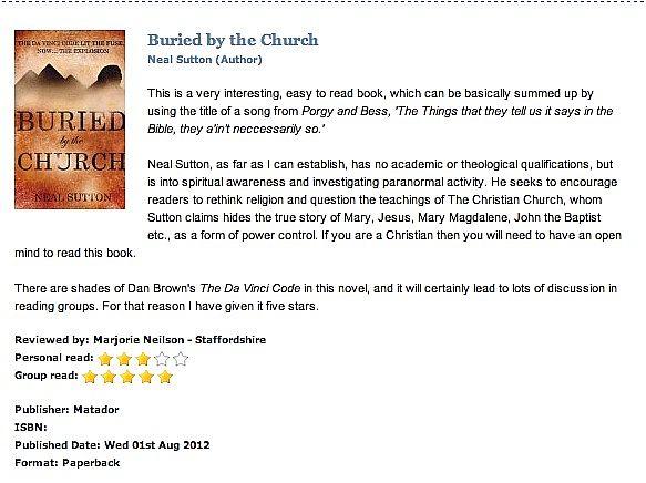 Buried By The Church - Troubador Book Publishing