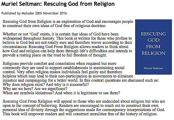 Rescuing God From Religion - Troubador Book Publishing