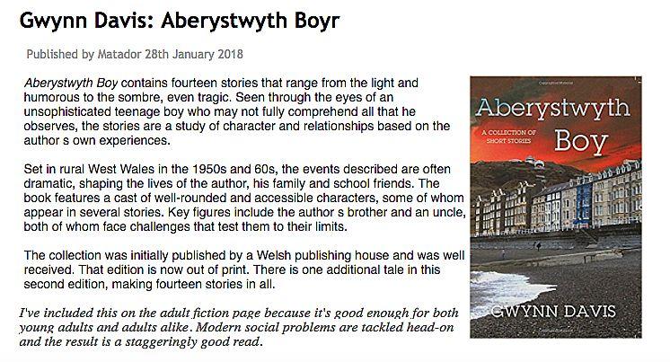 Aberystwyth Boy - Troubador Book Publishing