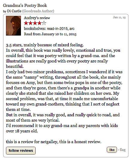 Grandmas Poetry Book Troubador Book Publishing
