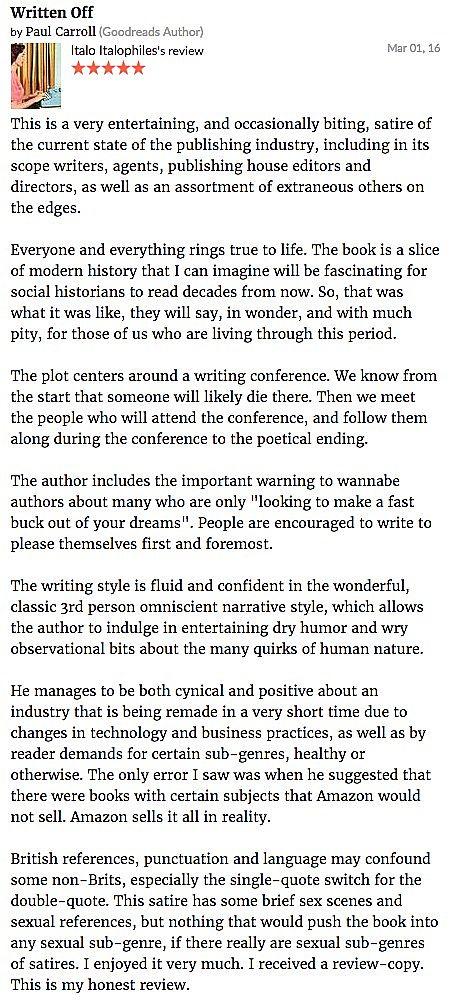 Written Off - Troubador Book Publishing