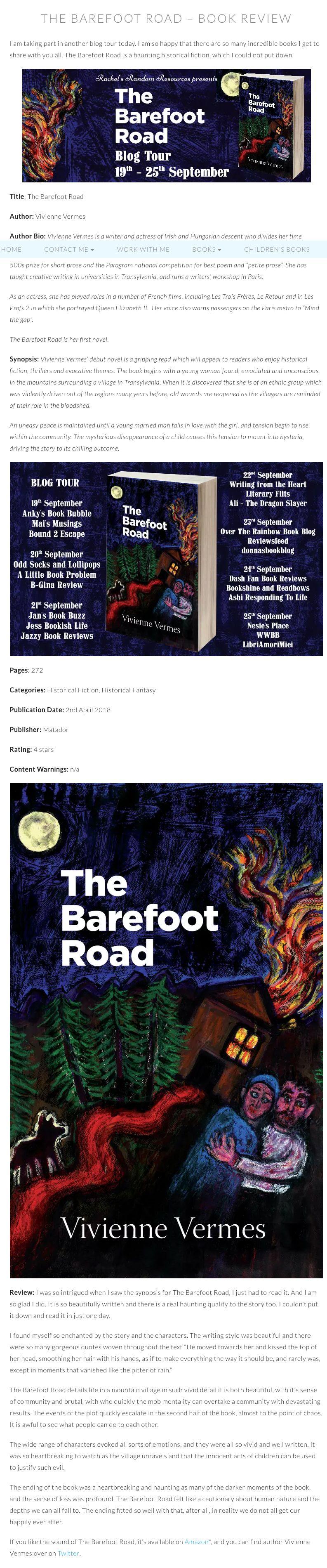 The Barefoot Road - Troubador Book Publishing