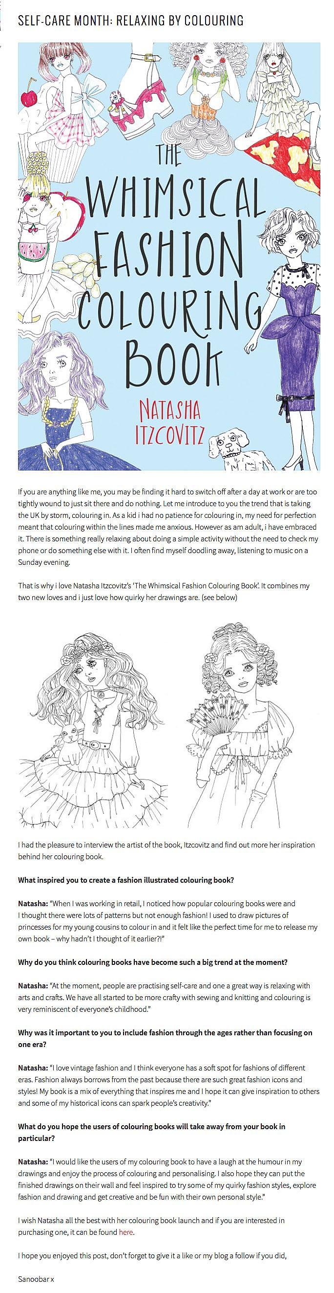 The Whimsical Fashion Colouring Book - Troubador Book Publishing