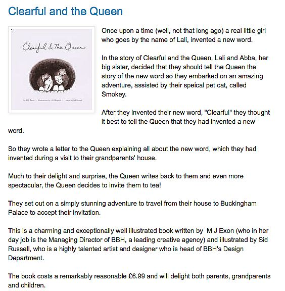 Clearful And The Queen - Troubador Book Publishing