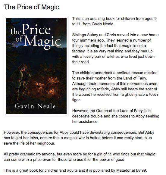 The Price Of Magic - Troubador Book Publishing
