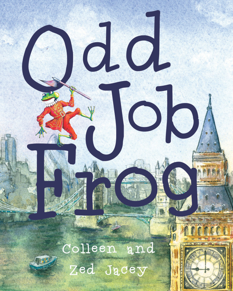 Troubador Odd Job Frog