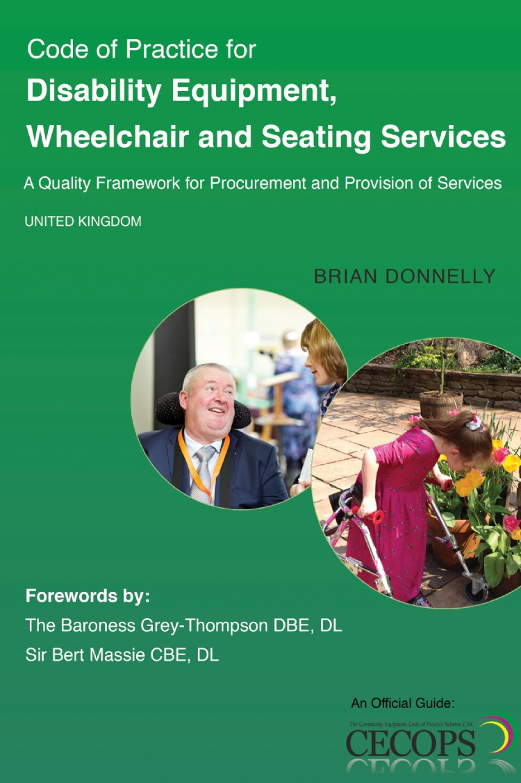 Troubador Code of Practice for Disability Equipment, Wheelchair and Seating Services