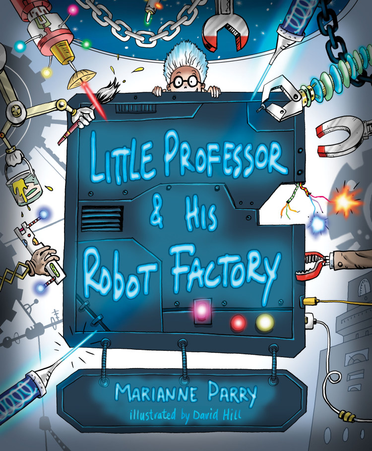 Troubador Little Professor and his Robot Factory
