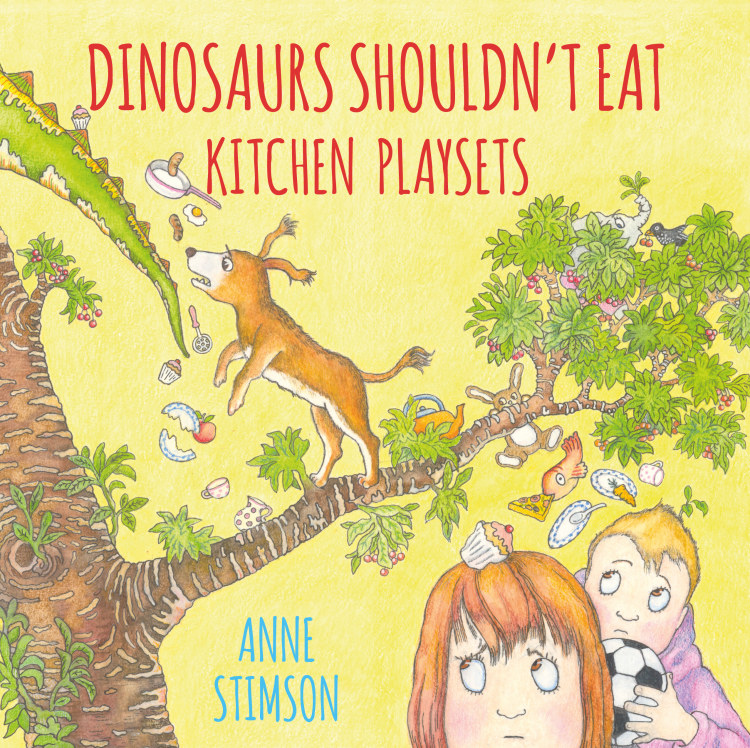 Troubador Dinosaurs Shouldn't Eat Kitchen Playsets