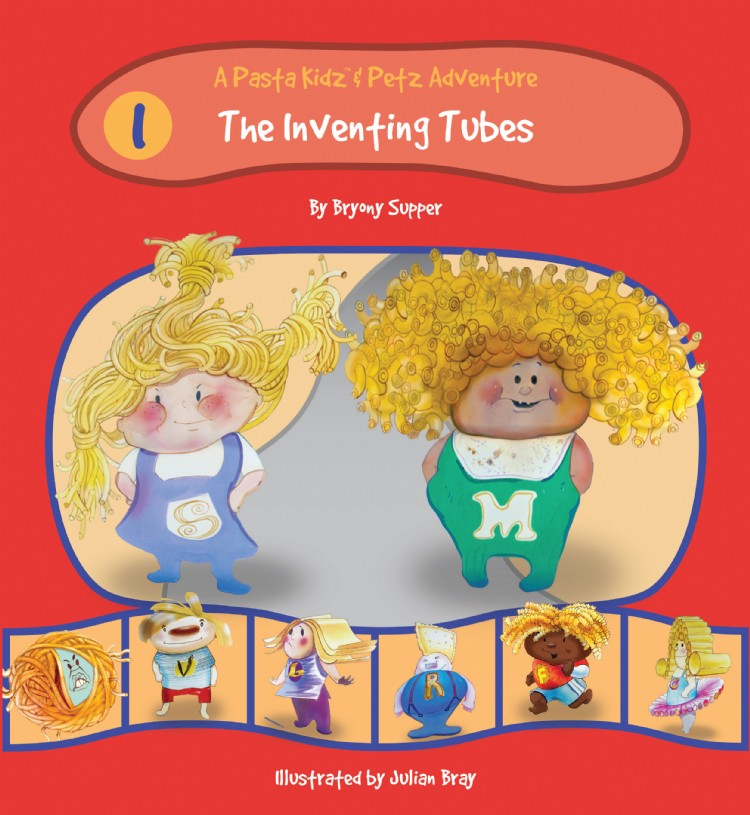 Troubador The Pasta Kidz: The Inventing Tubes