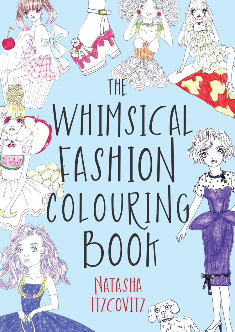 Troubador The Whimsical Fashion Colouring Book