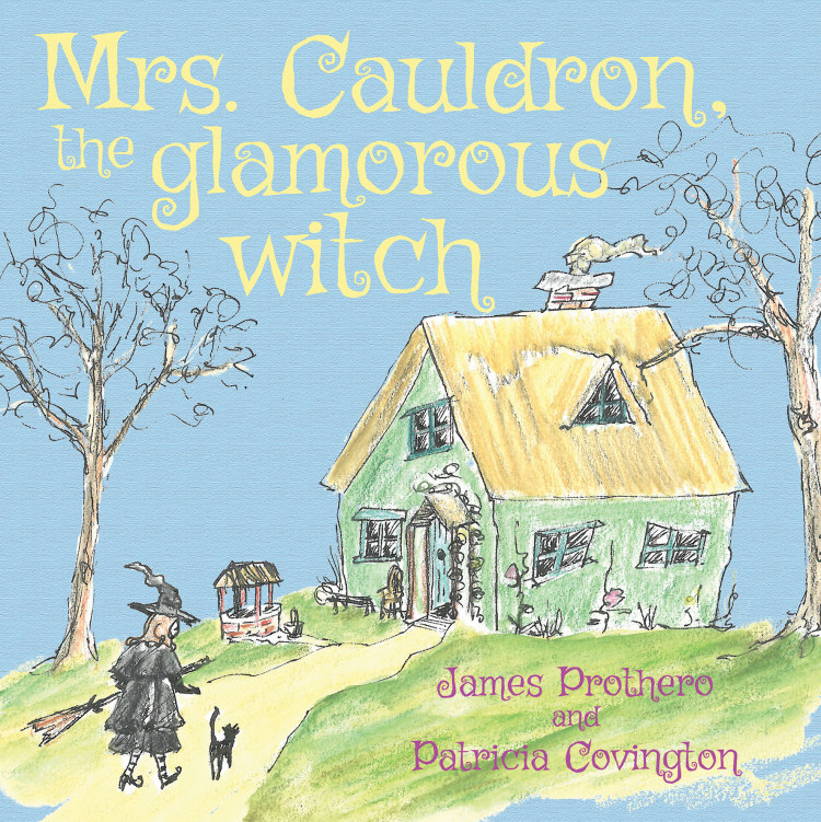 Troubador Mrs. Cauldron, the glamorous witch