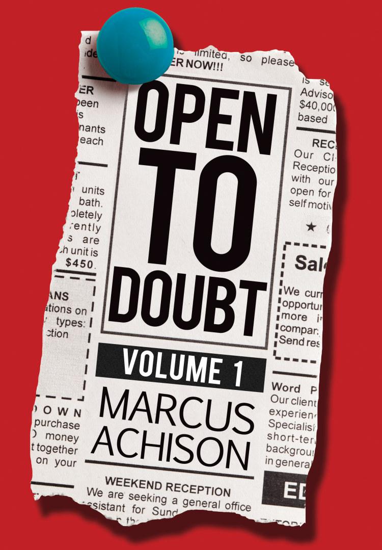 Open To Doubt - Troubador Book Publishing