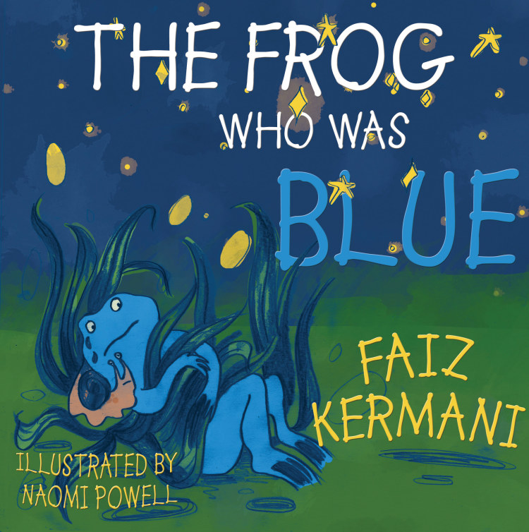 Troubador The Frog Who Was Blue
