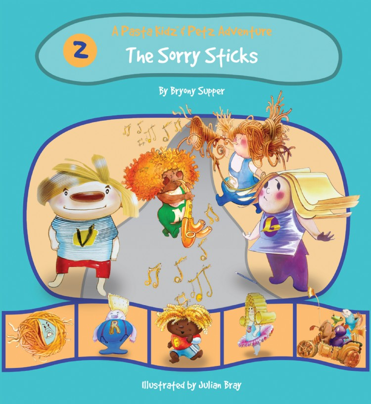 Troubador The Pasta Kidz: The Sorry Sticks
