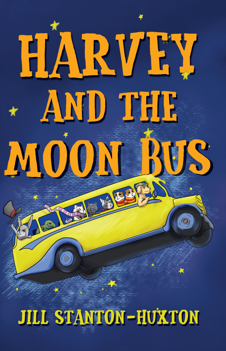 Troubador Harvey and the Moon Bus