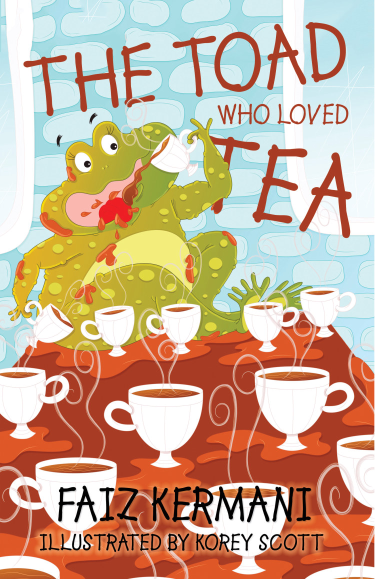Troubador The Toad Who Loved Tea