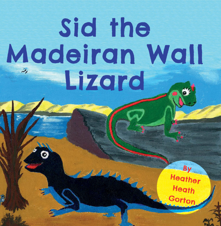 Troubador Sid the Madeiran Wall Lizard