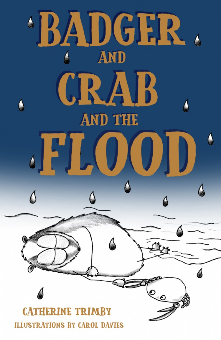Troubador Badger and Crab and the Flood