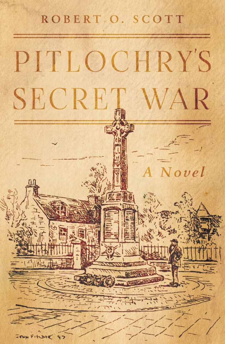 Troubador Pitlochry's Secret War