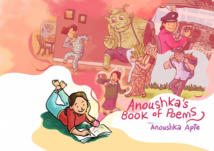 Troubador Anoushka's Book of Poems