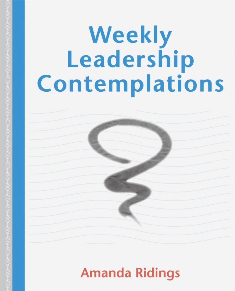 Troubador Weekly Leadership Contemplations
