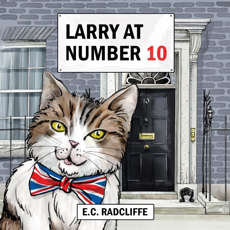 Troubador Larry at Number 10