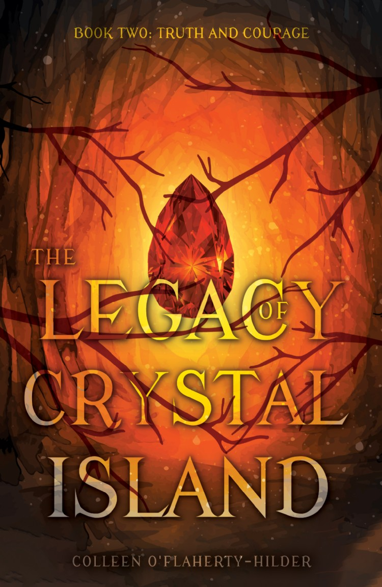 Troubador The Legacy of Crystal Island Book Two
