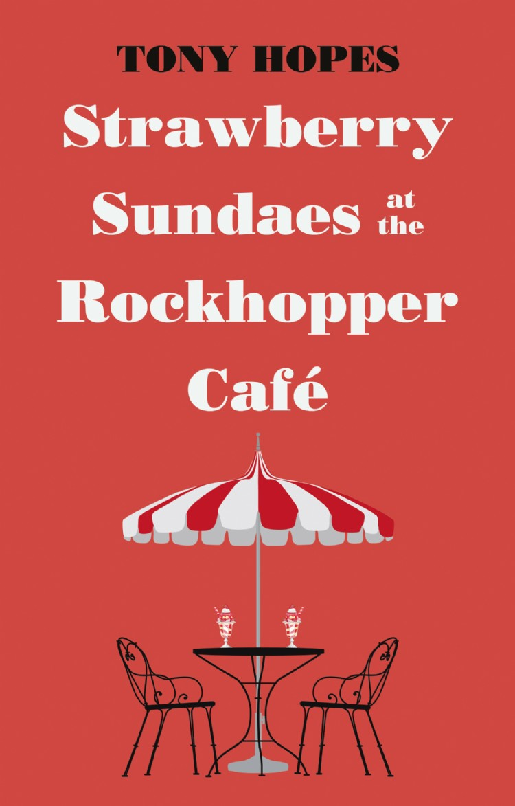 Troubador Strawberry Sundaes at the Rockhopper Café