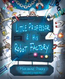 Picture of Little Professor and his Robot Factory