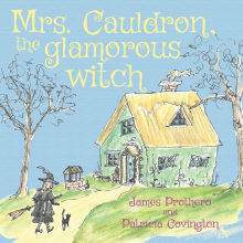 Picture of Mrs. Cauldron, the glamorous witch