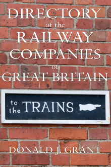 Picture of Directory of the Railway Companies of Great Britain
