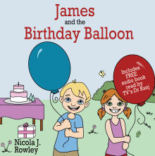 Picture of James and the Birthday Balloon