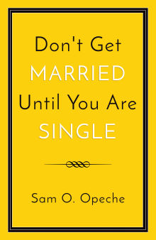 Picture of Don't Get Married Until You Are Single