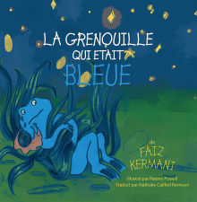 Picture of La grenouille qui était bleue