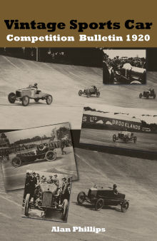 Picture of The Vintage Sports Car Competition Bulletin 1920