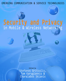 Picture of Security and Privacy in Mobile and Wireless Networking