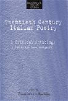 Picture of Twentieth-Century Italian Poetry
