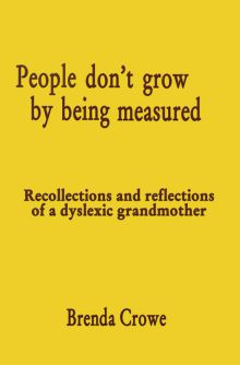 Picture of People don't grow by being measured
