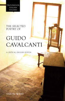 Picture of The Selected Poetry of Guido Cavalcanti